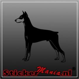Hond 21 sticker