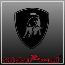 Lamborghini logo 2 sticker