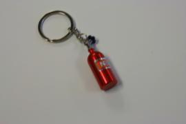 Nos fles sleutelhanger rood