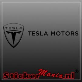 Tesla motors sticker