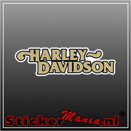 Harley davidson 3 Full Colour sticker