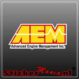 AEM Full Colour sticker