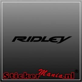 Ridley sticker
