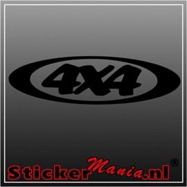 4x4 5 sticker