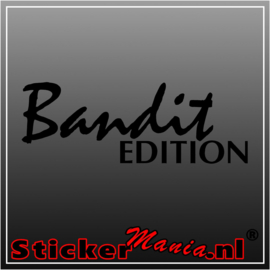 Bandit edition sticker
