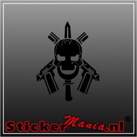 Skull 74 sticker