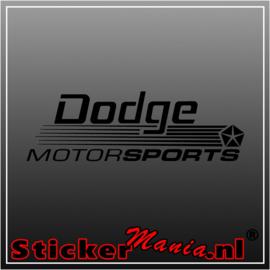Dodge motorsports 2 sticker