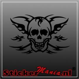 Skull 10 sticker