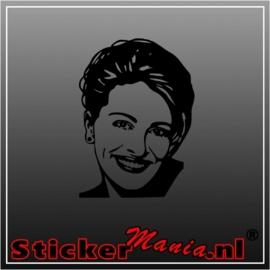 Julia roberts sticker