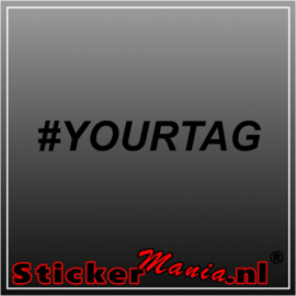 #YourTag sticker