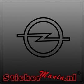 Opel logo sticker