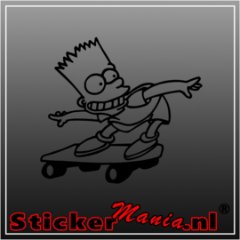 Bart Simpsons sticker