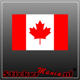 Canada Full Colour sticker