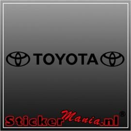 Toyota raamstreamer sticker