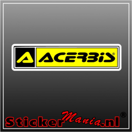 Acerbis full colour sticker