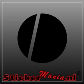 Ducati cirkel sticker