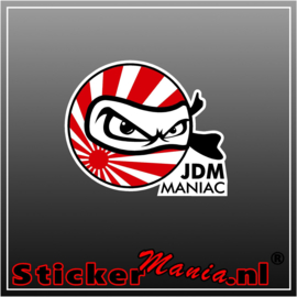 JDM Maniac Full Colour sticker