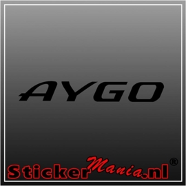Toyota aygo sticker