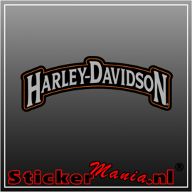 Harley davidson 5 Full Colour sticker