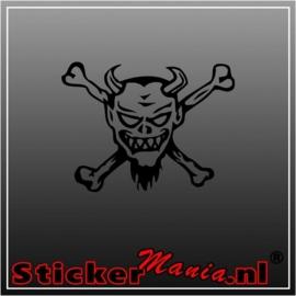 Skull 20 sticker