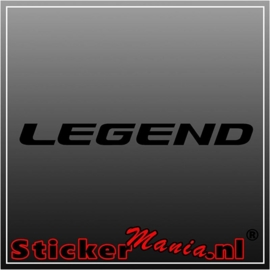 Honda legend sticker