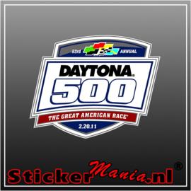 Daytona 500 full colour sticker