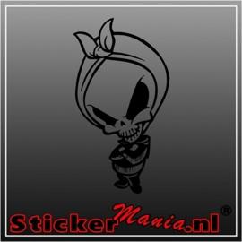 Skull 43 sticker