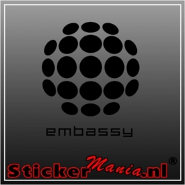 Embassy sticker