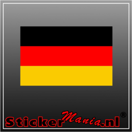 Duitsland Full Colour sticker