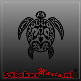Schildpad tribal sticker