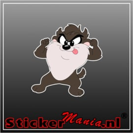 Baby Tasmanian Devil 1 Full Colour sticker