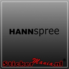 Hannspree sticker