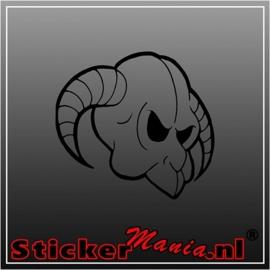 Skull 64 sticker