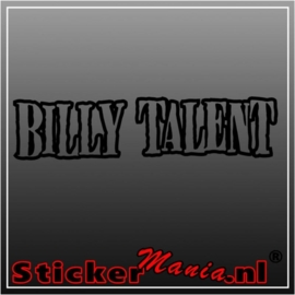Billy talent sticker