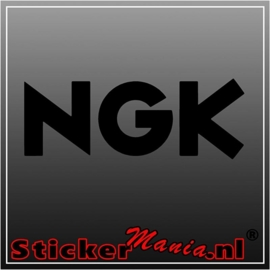 NGK sticker