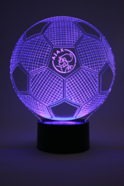 Ajax voetbal led lamp