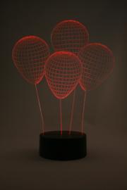 Ballonnen 3D led lamp