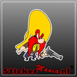Yosemite Sam Full Colour sticker