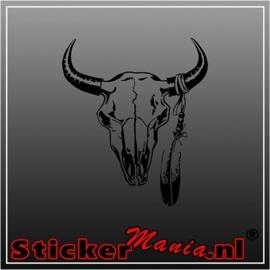 Skull 58 sticker