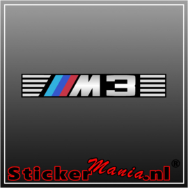BMW M3 1 full colour sticker