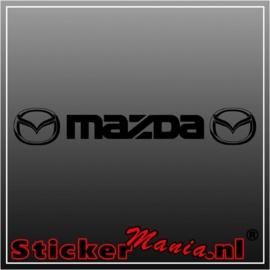 Mazda raamstreamer sticker