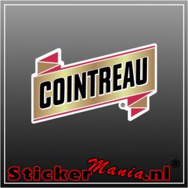 Cointreau Full Colour sticker