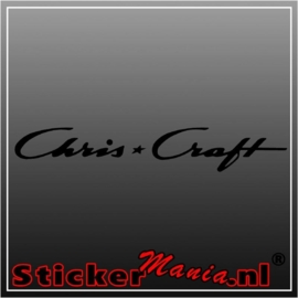 Chris Craft sticker