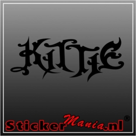 Kittie sticker