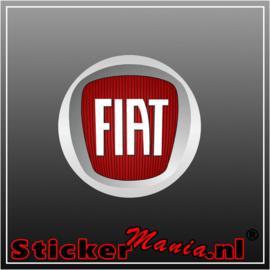 Fiat logo full colour sticker