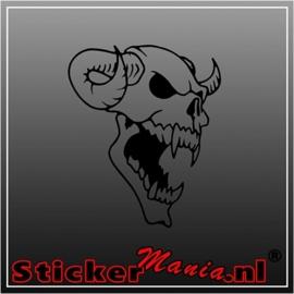 Skull 54 sticker