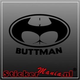 Buttman sticker