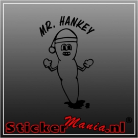 Mr. Hankey sticker