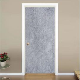 beton look grijs deur sticker