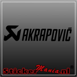 Akrapovic 2 sticker